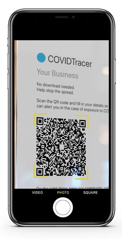 COVIDTracer - QR Check In / Sign In