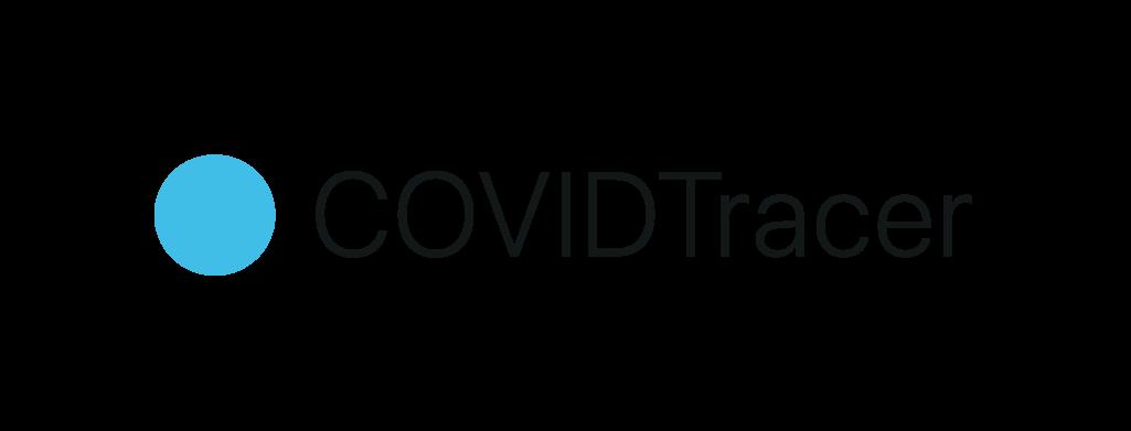 CovidTracer Logo-White